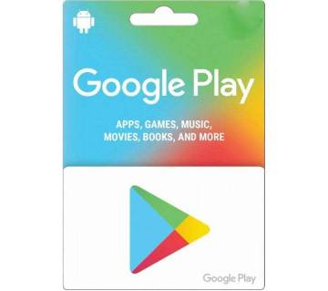 10 USD google play gift card- US Region- Email Delivery