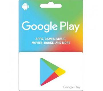 15 USD Google Play Gift Card - US Region - Email Delivery