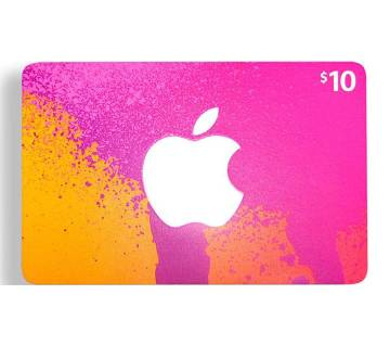 App Store & iTunes 10 dollar Gift Cards- US Region