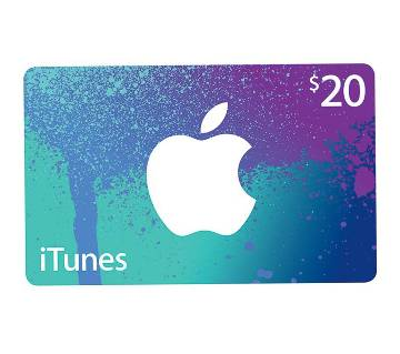 App Store & iTunes 20 dollar Gift Cards- US Region