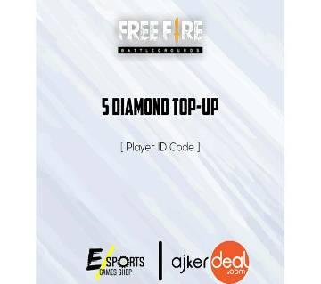 Garena Free Fire 05 Diamonds TopUp