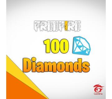 Topup 100 Diamonds