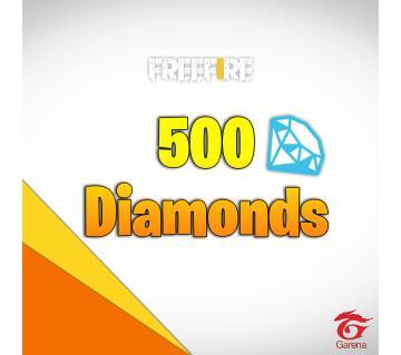 500 Diamonds Topup