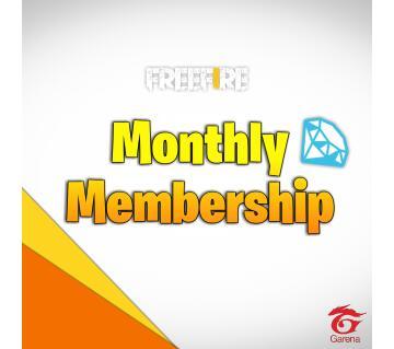 Monthly Membership Garena Free Fire