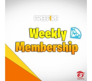 Weekly Membership Garena Free Fire