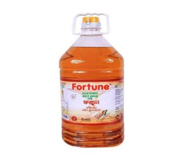 FORTUNE FORTIFIED RICE BRAN OIL  5LT