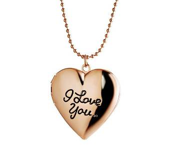 Miss lady I love you pendant necklaces for women