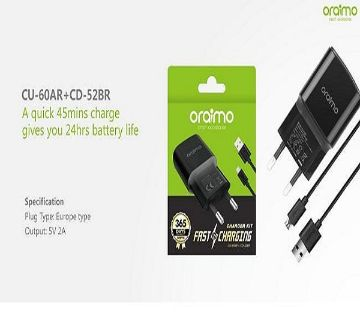 oraimo 2A FAST CHARGER cu-60AR+CD-52BR