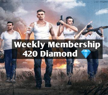 Free Fire Weekly Membership (420 Diamonds)