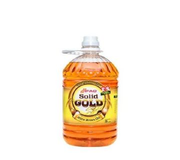 Ifad Solid Gold Rice Bran Oil- 5 ltr