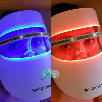Well Derma LED Light Therapy Face Musk