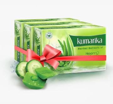 Kumarika Herbal Beauty Soap 100gm BD  (Buy 2 Get 1 Free)