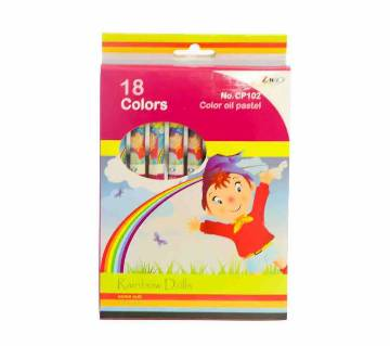 ZINIX CP102 Oil Pastel 18colors-(5% VAT Included on Price)-4003622