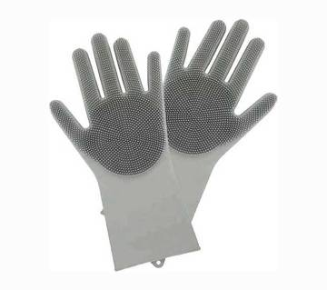 Zed Silicone Hand Gloves Premium-(5% VAT Included on Price)-3813389