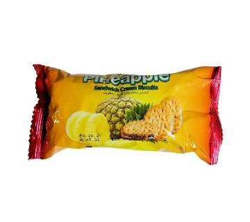 Danish Pineapple S.Cream Biscuits 63g-(5% VAT Included on Price)-2809948