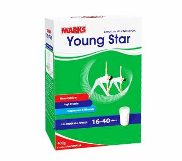 Marks Young Star F.C Milk Powder 400g-(5% VAT Included on Price)-2500772