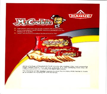 Haque Mr. Cookie 60±5g-(5% VAT Included on Price)-2803705