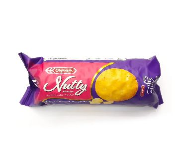 Olympic Nutty Peanut Biscuits 80g-(5% VAT Included on Price)-2807949