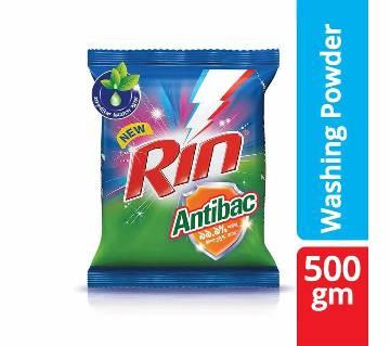 Rin Antibac Detergent Powder 500g-(5% VAT Included on Price)-2603527