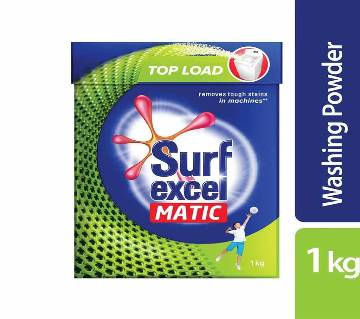 Surf Excel Matic Top Load D.Powder 1kg-(5% VAT Included on Price)-2603009