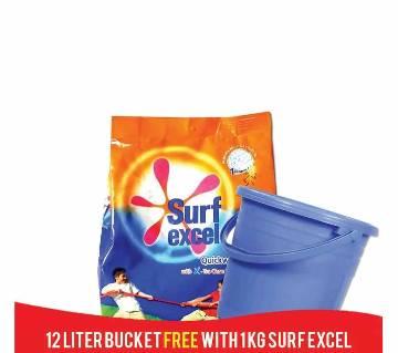Surf Excel 1kg &12Ltr.Bucket Combo offer-(5% VAT Included on Price)-2603523