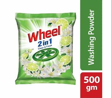Wheel Clean&Fresh 2in1 D.Powder 500g-(5% VAT Included on Price)-2603356