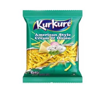 Kurkure Cream&Onion Chips 50±5g-(5% VAT Included on Price)-2812429