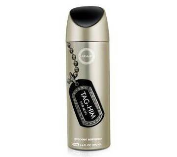 Armaf Tag-Him Body Spray 200ml-(5% VAT Included on Price)-3005794