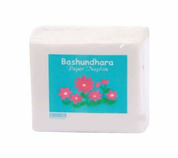 """B.dhara Paper Napkin 13""""x1ply 100pcs (W)-(5% VAT Included on Price)-2600069"""