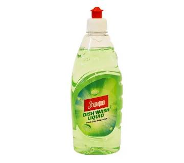 Shwapno Dish Wash Liquid Lime 500g-(5% VAT Included on Price)-2603572