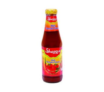 Shezan Hot Tomato Sauce 340gm-(5% VAT Included on Price)-2701347