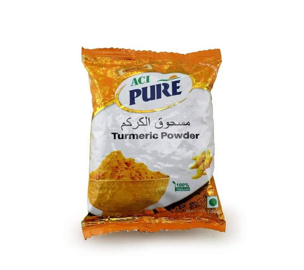 এসিআই পিওর হলুদের গুঁড়া 100 gm-(5% VAT Included on Price)-2700117 বাংলাদেশ - 1138947