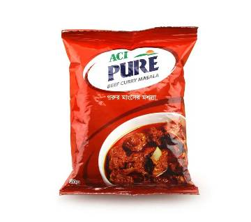 ACI Pure Beef Curry Masala 20gm-(5% VAT Included on Price)-2701694