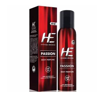He Passion Body Perfume 120ml-(5% VAT Included on Price)-3015570
