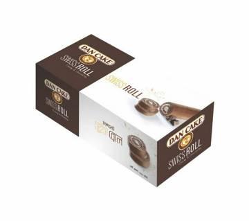 Dan Cake Swiss Roll Chocolate 200g-(5% VAT Included on Price)-2813115