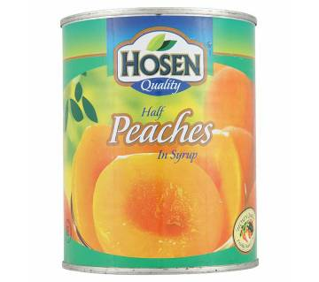 Hosen Peaches Halves In Syrup 825 gm-(5% VAT Included on Price)-2803033