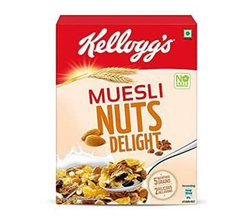Kelloggs Muesli Nuts Delight 500g-(5% VAT Included on Price)-2811754