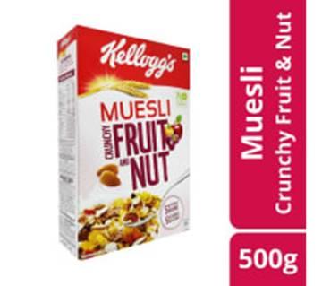 Kelloggs Muesli Crunchy F&Nut 500g-(5% VAT Included on Price)-2811883