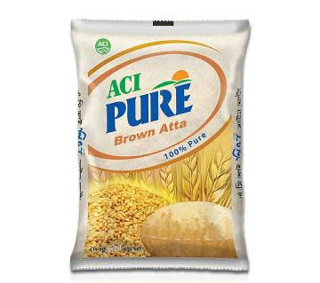 ACI Pure Brown Atta 2 Kg-(5% VAT Included on Price)-2401330