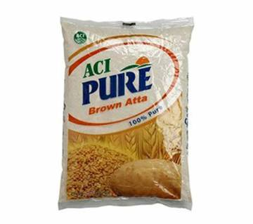 ACI Pure Brown Atta 1 Kg-(5% VAT Included on Price)-2400191