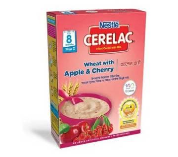 Cerelac Wheat Apple Cherry 400 gm BIB-(5% VAT Included on Price)-2200028