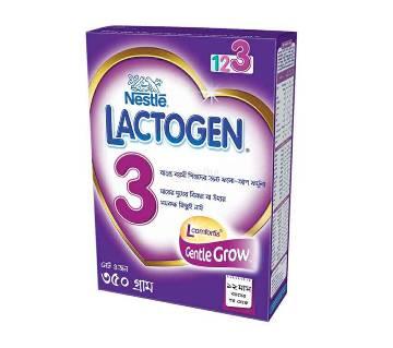 Lactogen 3 BIB 350gm-(5% VAT Included on Price)-2200148