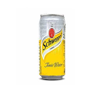 Schweppes Tonic Water Can 330±10ml-(5% VAT Included on Price)-2300880