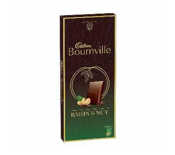 Cadbury Bournville Raisin & Nut 90±10g-(5% VAT Included on Price)-2803717