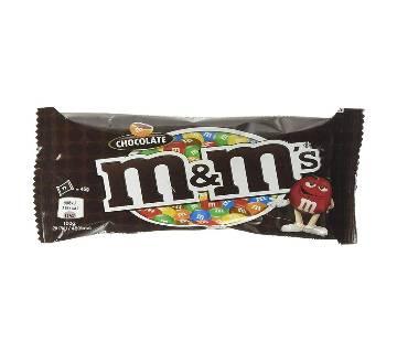 M&M Choco Chocolate 45g-(5% VAT Included on Price)-2802926