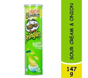 Pringles Sour Cream&Onion Chips 147g-(5% VAT Included on Price)-2813730