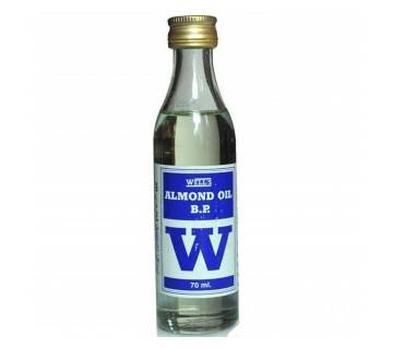 Well`s Almond oil B.P W 70ml-(5% VAT Included on Price)-3004383