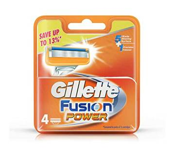 GILLETTE Fusion 4s Cartridges-(5% VAT Included on Price)-3001950