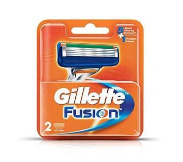 Gillette Fusion 5+1 Cartiz 2pcs-(5% VAT Included on Price)-3009268