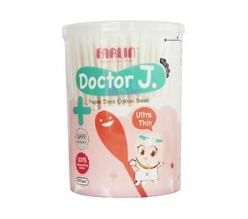 Farlin Doctor J.Baby Cotton Buds 190Pcs-(5% VAT Included on Price)-2101583